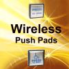Wireless Push Pads