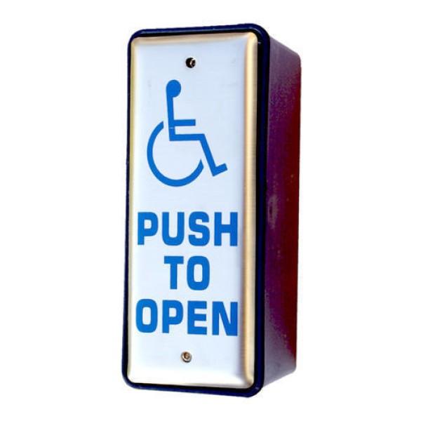 Slimline Wireless Push Pad