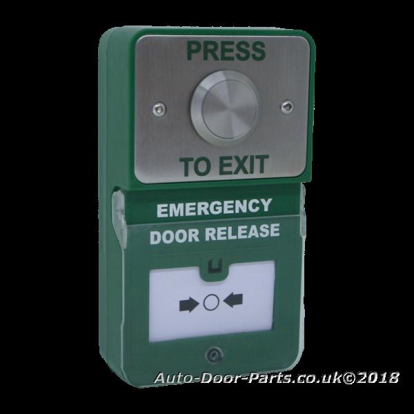 Emergency Door Release Combined With Stainless Steel