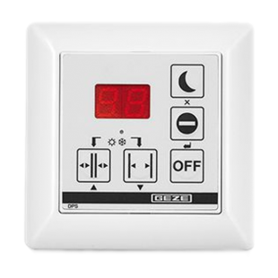 Geze DPS Display Control Switch With OFF Button