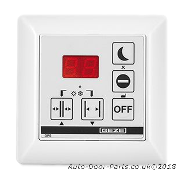 Geze Dps Display Control Switch With Off Button Geze Dps
