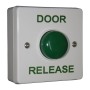 Standard White Box Green Dome Button - Door Release