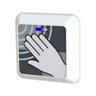Hotron ClearWave Touchless Activation Switch